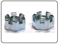 Slotted Nuts Manufacturer, Slotted Nuts  India